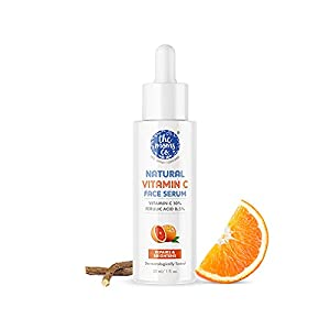 The Moms Co. Natural Vitamin C Face Serum with Vitamin C for a Naturally Brighter and Even Toned Skin l 10 percent Vitamin C l 30 ml