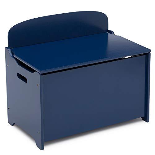 Delta Children MySize Deluxe Toy Box, Deep Blue