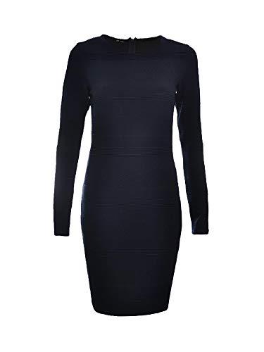 Superdry ARIA Bodycon Dress [ GR. XL - 44 ] Damen Kleid Freizeitkleid BLAU