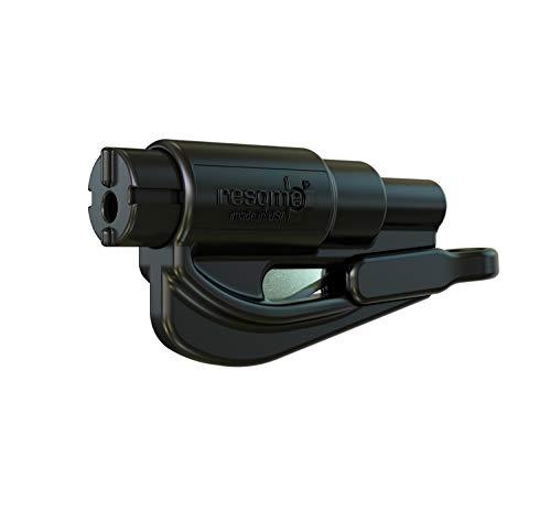 noir multitool D/önges Res-Q-Me Mini-outil sp/écial avec anneau bris/é