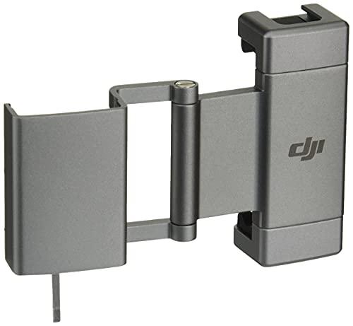 DJI Pocket 2 Soporte para teléfono - Ofrece una conexión más Estable Cuando se Conecta a tu Smartphone, más Agujero roscado de 1/4' y un Deslizador frío para Mayor versatilidad de Uso, Negro