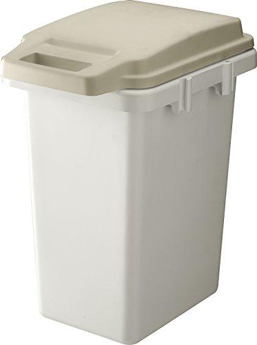リス ゴミ箱  ホワイト 本体サイズ:W31.9xD44.4xH52.2 33L RSD-70