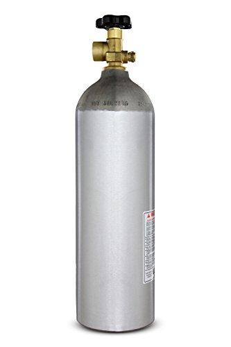 Kegco I22-580 22 Cu. ft. Nitrogen Air Tank High Pressure Aluminum Gas Cylinder