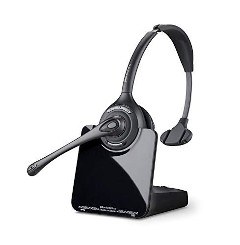 Plantronics CS510 - Over-the-Head monaural Wireless Headset System DECT 6.0 (Renewed)