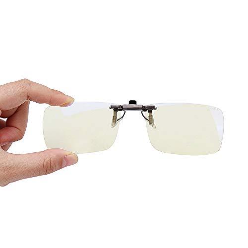 MXBIN Clip On Occhiali da Sole Occhiali Anti Raggi Blu Protezione degli Occhi 110 Rotante for Computer Uso di telefoni Strumento di Riparazione delle Parti accessorie