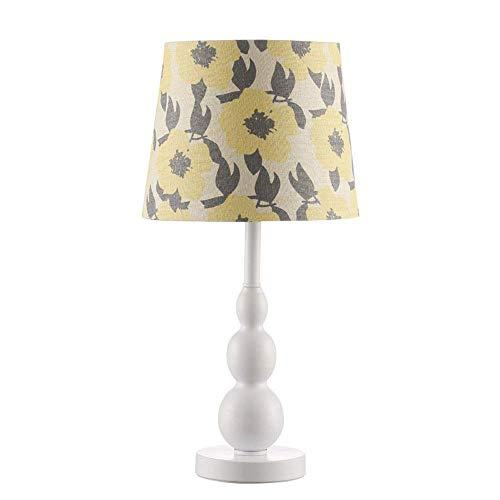 Haushaltsprodukte Moderne einfache nordische Tischlampe Nachttischlampen Nachttischlampe mit Stoffschirm für Schlafzimmer Wohnzimmer Schlafzimmer Nachttisch Kinderzimmerdekoration (Ausgabe: Stil A)