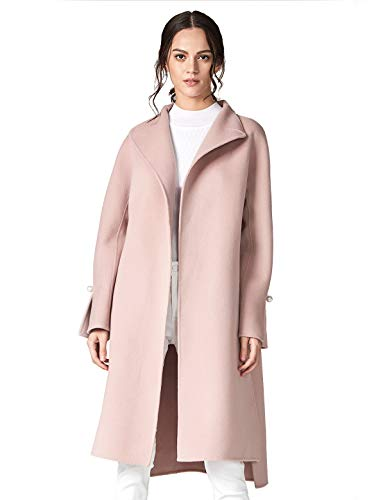 pink long coat