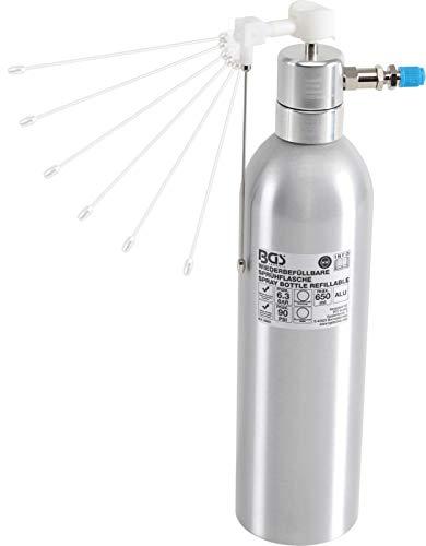 BGS 9393 | Druckluft-Sprühflasche | Aluminiumausführung | 650 ml