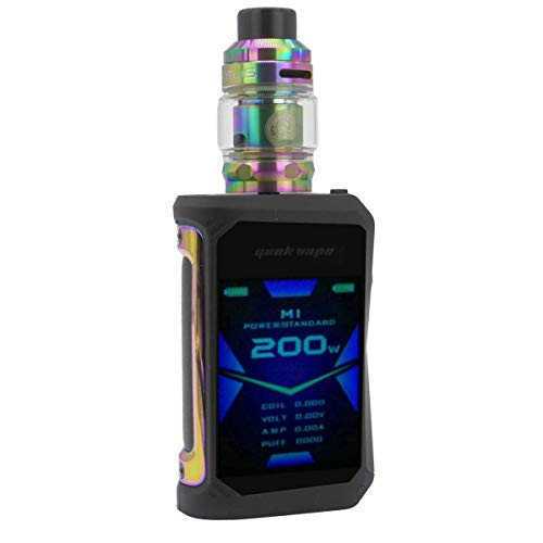 GeekVape Aegis X Kit 200 W, mit Zeus Sub Ohm Tank 3,5 ml/5 ml, Riccardo E-Zigarette, rainbow/black