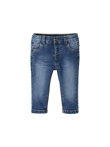 Vertbaudet Gerade Jeans für Baby Jungen Blue Stone 71