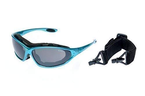 RaVS Sportbril, skibril, kitesURFbril, zonnebril met band en beugel