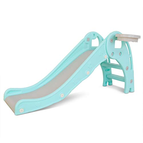 HAen Garden Slide | Childrens slide can become a water slide for extra fun | first kids slide | Easy to assemble and take down | for Age 1-5 years