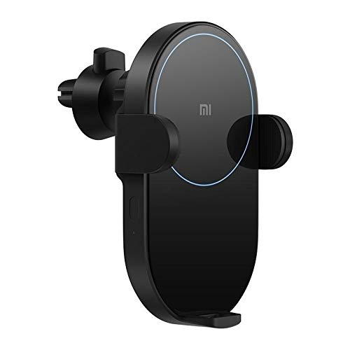 Ccreate Xiaomi Wireless Car Charger Automatic Clamping,20W Qi Fast Charging,Car Mount Air Vent Phone Holder for Xiaomi 9, iPhone Xs Max/XR/X/8/8Plus, Samsung S9/S8/Note8