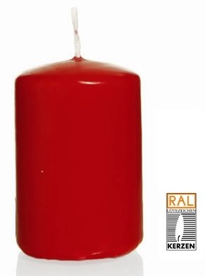 Rubis Bougie Cylindre 60 x 30 mm, 40 pcs Bougies, de Belle qualité
