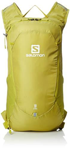 Salomon, Leichter Rucksack, Für Wandern oder Radfahren, 10L, TRAILBLAZER 10, Gelb (Citronelle), LC1085200