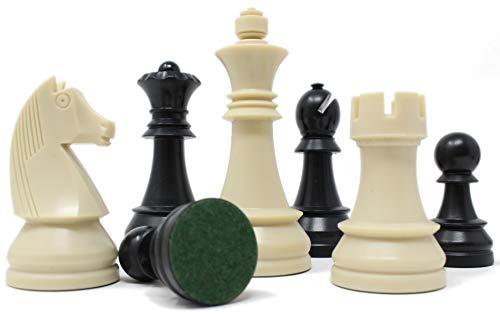 チェスジャパン チェス駒 トーナメント・スタントン 95mm ABSヘビー