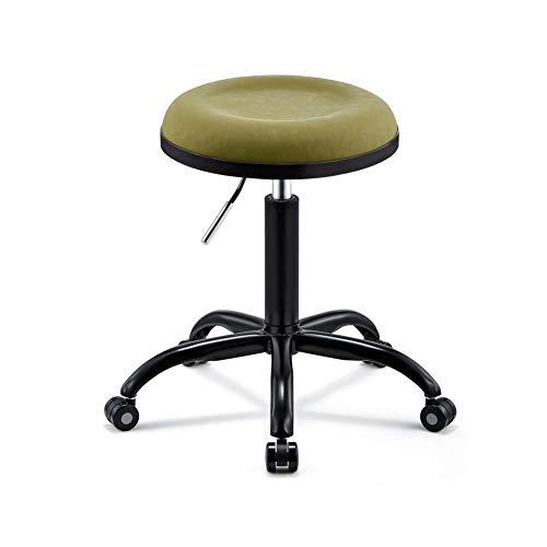 Wangxn Beauty kruk op wielen, in hoogte verstelbare professionele massagestoel voor gebruik in ziekenhuizen, salons en kantoren