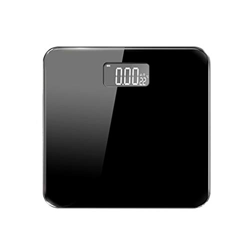 XIY Precision Electronic Scales Human Scales High-Precision Digital Weight Bathroom Scales Small Smart Home Human Health Weight Scale, Ultra-Wide Platform, Easy To Read Backlit Lcd,