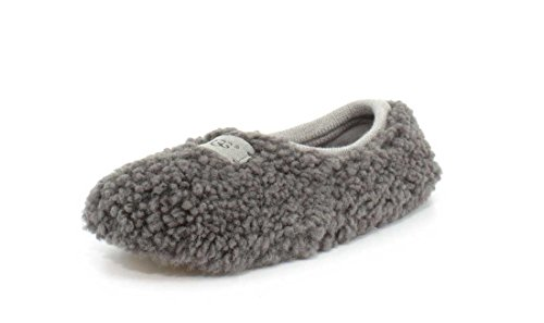 UGG Female Birche Slipper, Grey, 6 (UK)