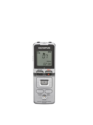 Olympus VN-5000 Digital Voice Recorder (141985) (Silver)