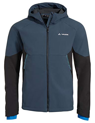 VAUDE Herren Men's Qimsa Softshell Jacket Jacke, Steelblue, M