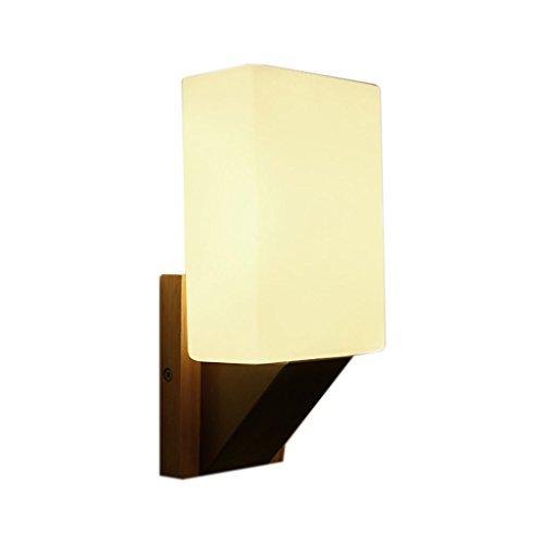 Applique murale QIQIDEDIAN Lampe de Chevet Minimaliste Moderne Lampe de Mur de Chambre à Coucher créative Lampe de Mur de Balcon
