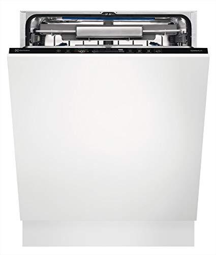 Electrolux EEC67300L lavavajilla Totalmente integrado 13 cubiertos A+++ - Lavavajillas (Totalmente integrado, Tamaño completo (60 cm), Blanco, Negro, Sensor, 1,6 m)