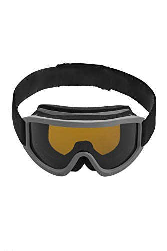 Mountain Warehouse Mens Ski Goggles - UV400 Glasses, Ventilated Frame...