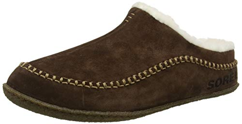 Sorel – Men's Falcon Ridge II House Slippers with Suede Upper and Wool/Polyester Lining