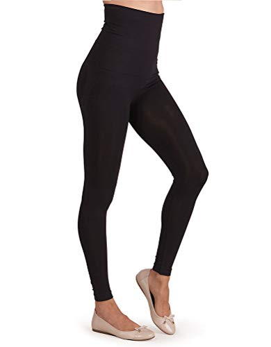 Seraphine Women's Post Maternity Shaping Leggings Size Large Black
