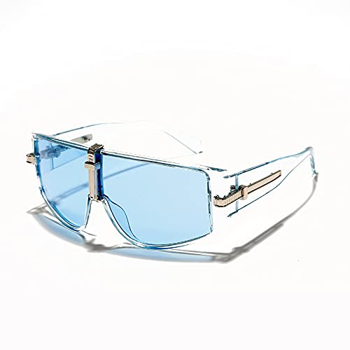 ShSnnwrl Único Gafas de Sol Sunglasses Gafas De Sol Vintage para Mujer, Gafas De Sol Steampunk De Lujo para Hombre, Gafas De Moda