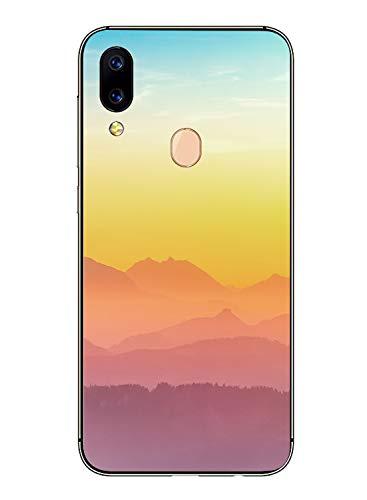 Oihxse Schutzhülle, modisch, transparent, Silikon, kompatibel mit Xiaomi Mi A2 Lite, ultradünn, weich, TPU, niedlich, Tier-Schutzhülle, kratzfest