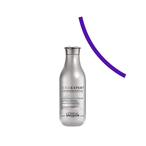 L'Oréal Professionnel - Acondicionador Silver para Cabello Blanco y Gris - 200 ml