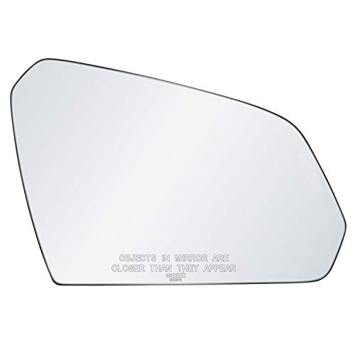 exactafit 8817R Passenger Side Mirror Glass Replacement Plus 3M Adhesives Compatible With Hyundai Sonata 2015-2019 Right Hand Door Wing RH