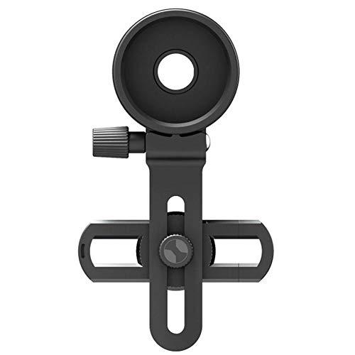 Teléfono Celular Clip Adaptador de Montaje Universal telescopio Binocular microscopio monocular con Anillo de Ajuste para Smartphone