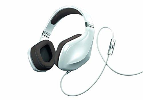 Magnat LZR 980 High Performance Over-Ear-Headphone   Designed by Pininfarina   Steuerung von Apple-/Android-Funktionen über Fernbedienung - pearl white