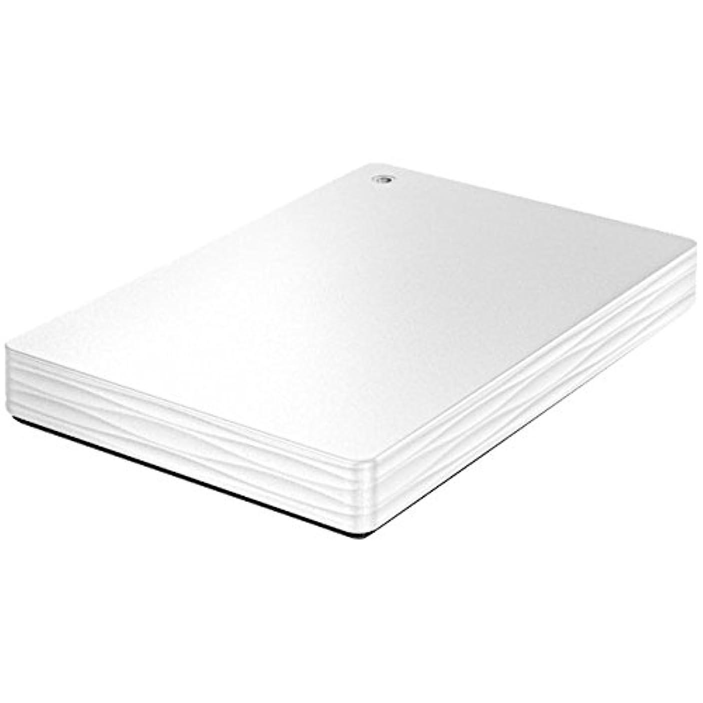 お手伝いさん哲学博士トリムアイ?オー?データ機器 ポータブルHDD「カクうす Lite」500GBホワイト