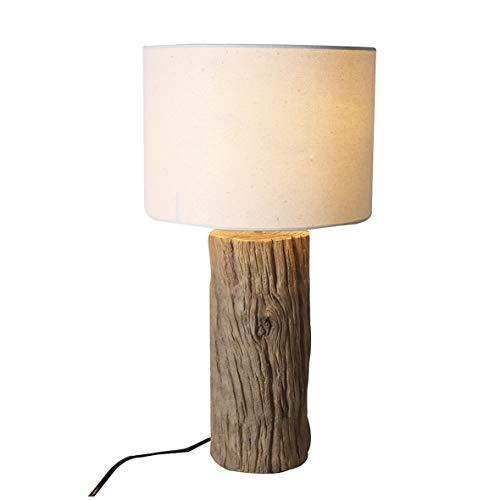 Casablanca lamp boomstam natuur/crème, poly (BxHxD) 50 x cm