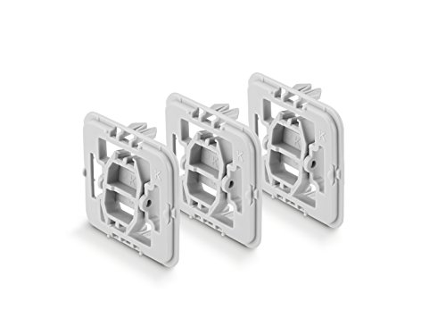 Smart Home 3tlg. Unterputz Adapter Set (für Kopp (K) Schalter)