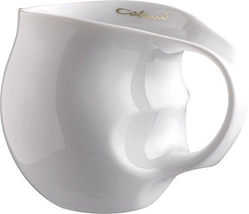 Luigi Colani Tasse ab OVO Black & White Kaffeetasse/Cappuccinotasse Kaffeebecher Porzellan 280 ml