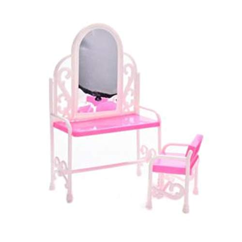 Make Up Cosmetics kaptafel bureau Baby van Doll Toy Chair dressoir kaptafel Decor Meubel