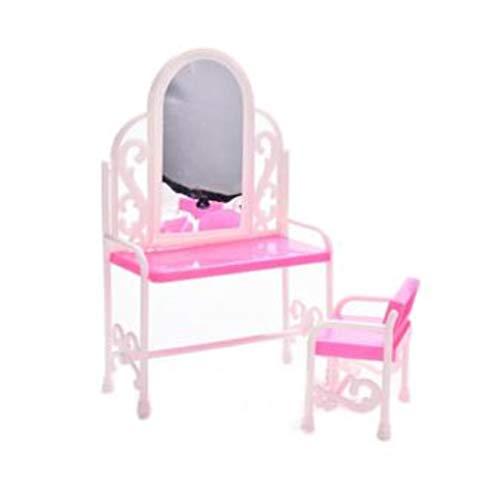 Make Up Cosmetics kaptafel bureau Baby van Doll Toy Chair dressoir kaptafel Decor Meubel