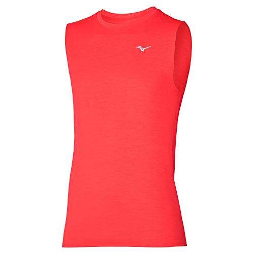 Mizuno Impulse Core Camiseta, Ignition Red, XXL para Hombre