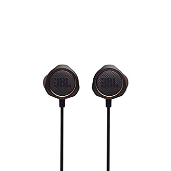 JBL Quantum 50 Wired in-Ear Gaming Headphones with Inline Control - Black