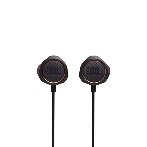 JBL Quantum 50 Wired, in-Ear Gaming Headphones with Inline Control - Black