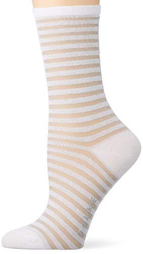FALKE Damen Flash Rib Socken, weiss (white 2000), 35-38
