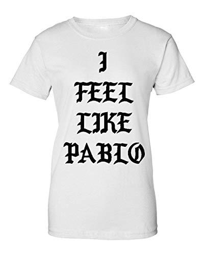 I Feel Like Pablo Artwork Damen T-Shirt Medium