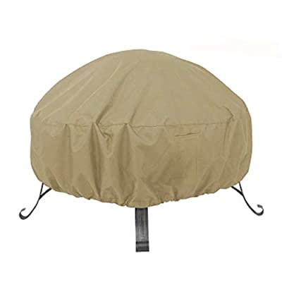 ENJOEE Fire Pit/Table Cover Outdoor Fire Bowl Cover Waterproof Heavy Duty Oxford with Durable Fabric (S) from ENJOEE