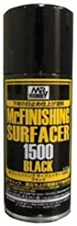 Mr. Finishing Surfacer 1500 Black 170ml Spray by Mr. Hobby