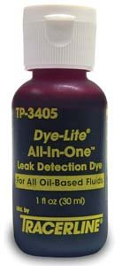 Tracer Products TP-3405 All-In-One Coolant Dye, 1 oz.